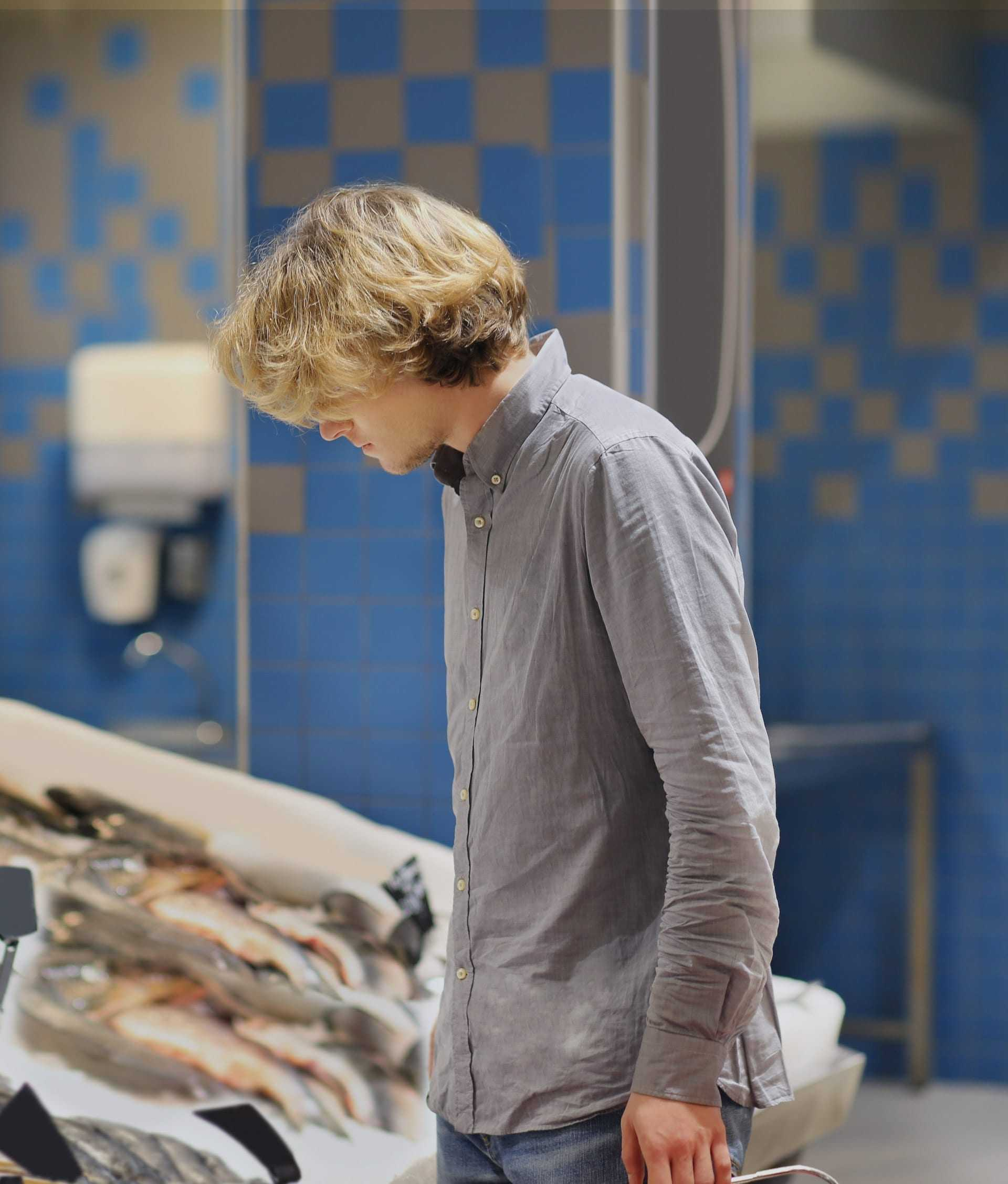 Compra de pescado