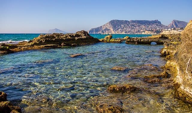 Yacimiento de acuicultura de la época romana.