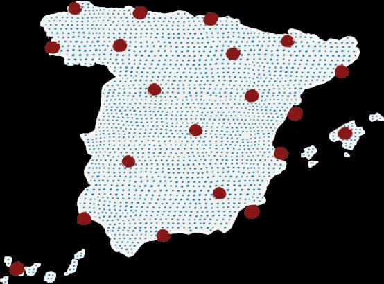 Mapa acuicultura España