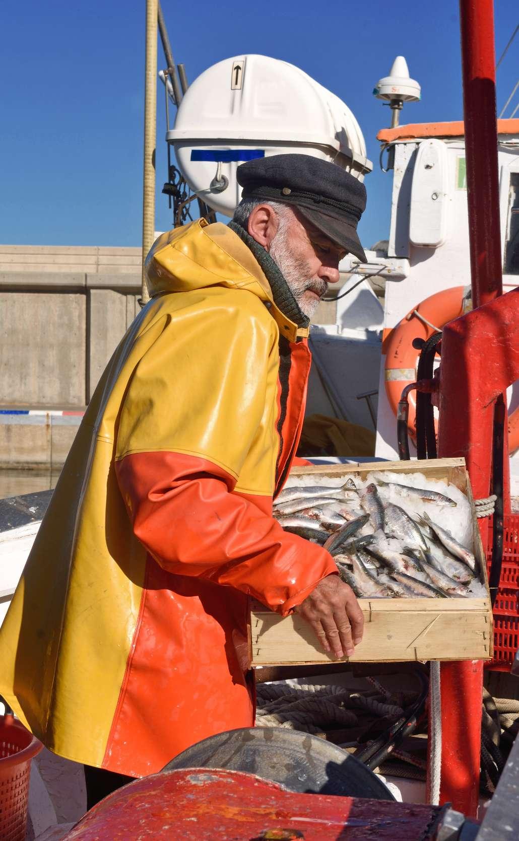 Trabajador de acuicultura y pesca