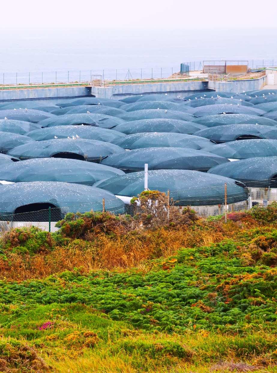 Instalaciones de acuicultura de Galicia