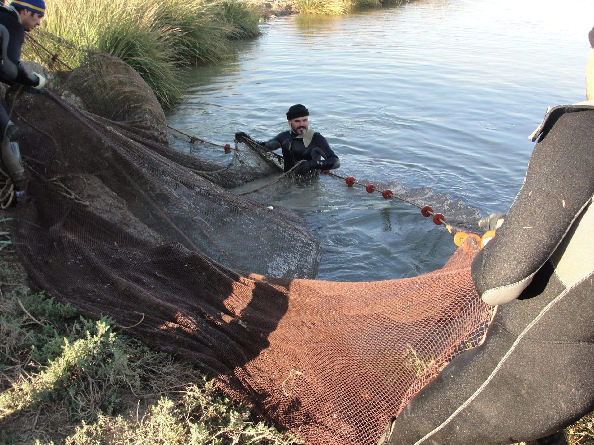 Trabajador acuicultura