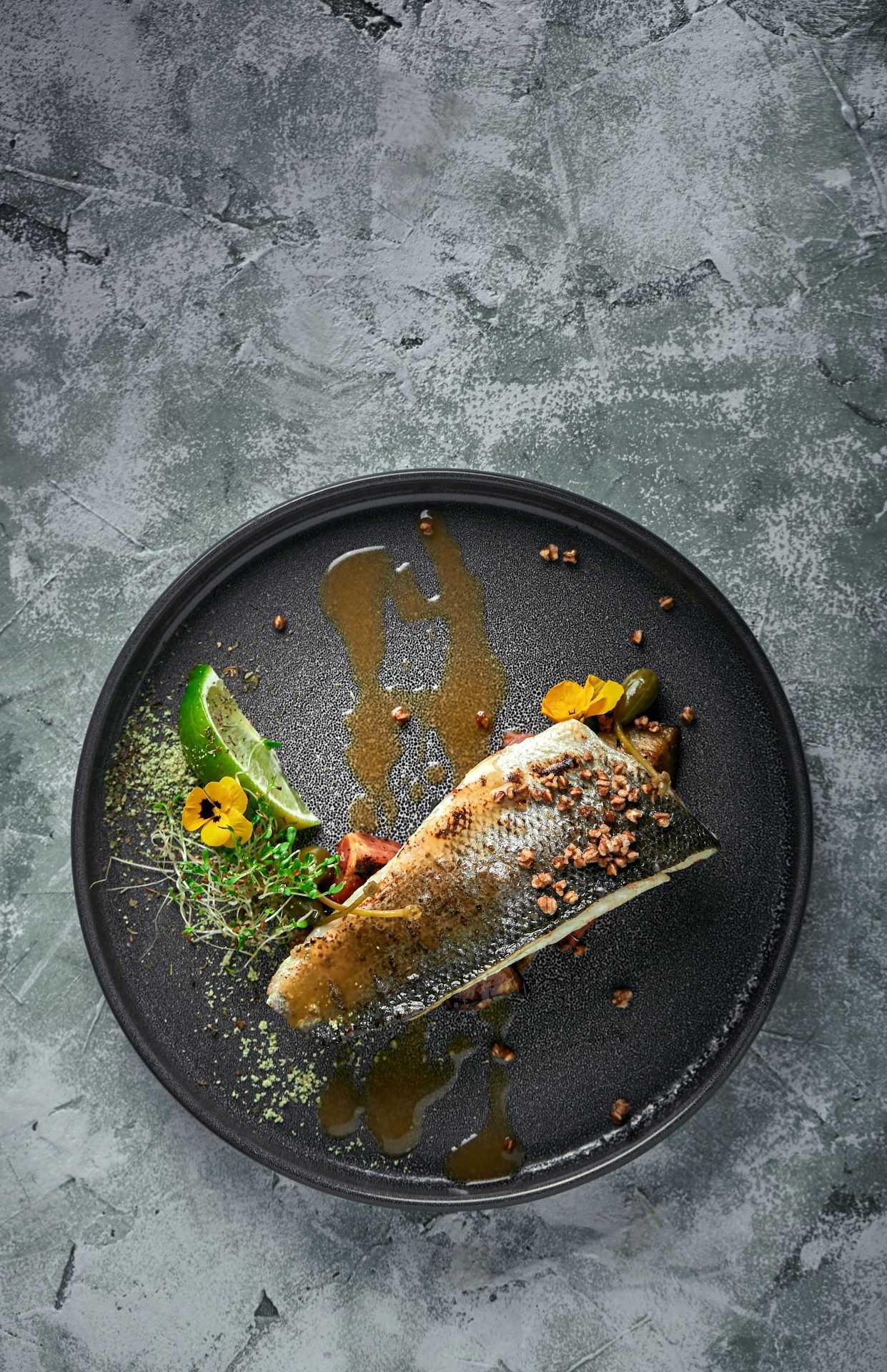 Lubina cocinada