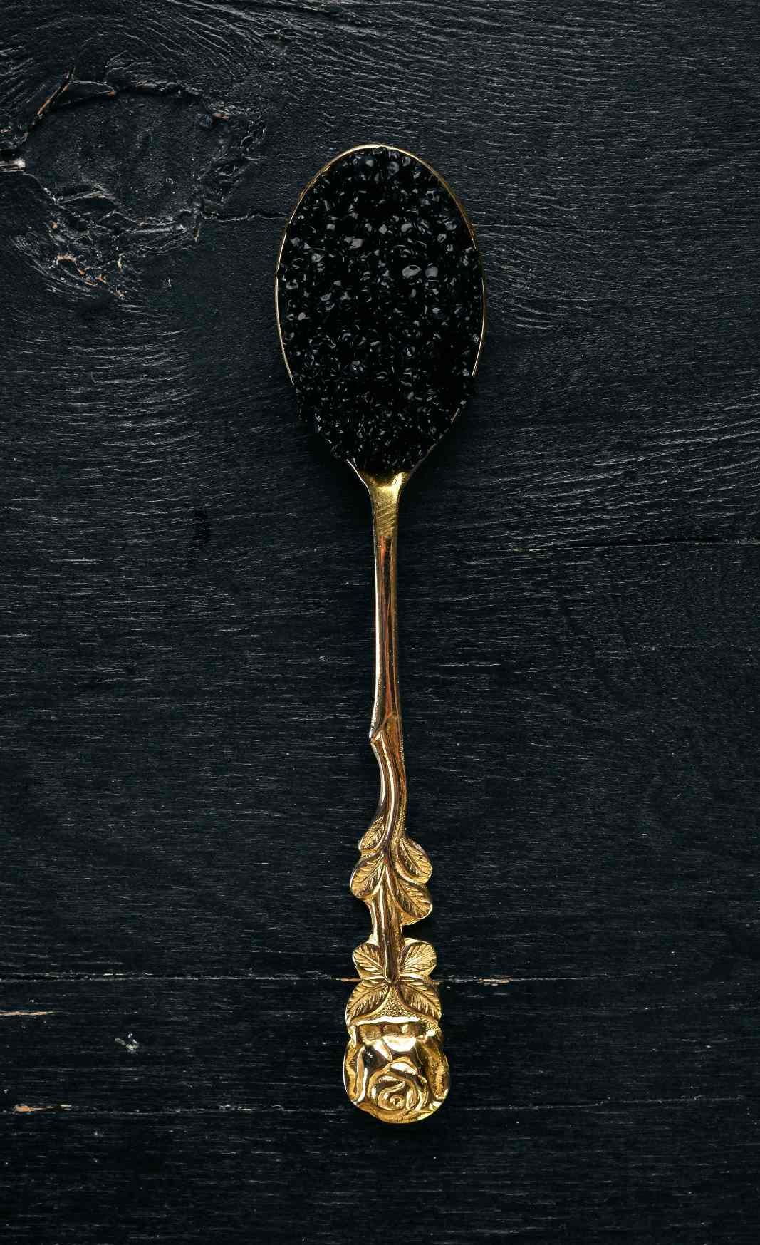 Cuchara de caviar de acuicultura continental