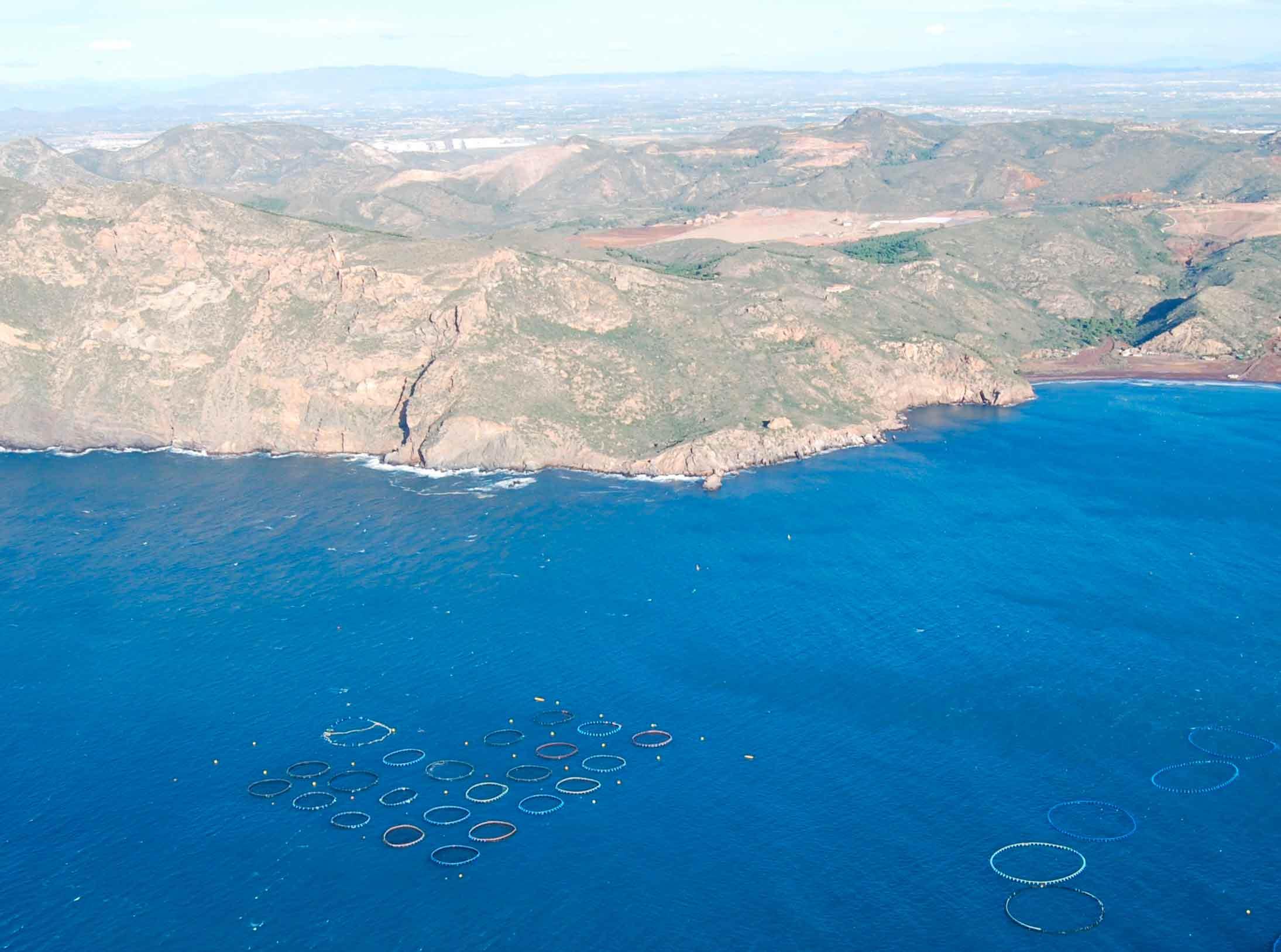 Polígono marino en Murcia