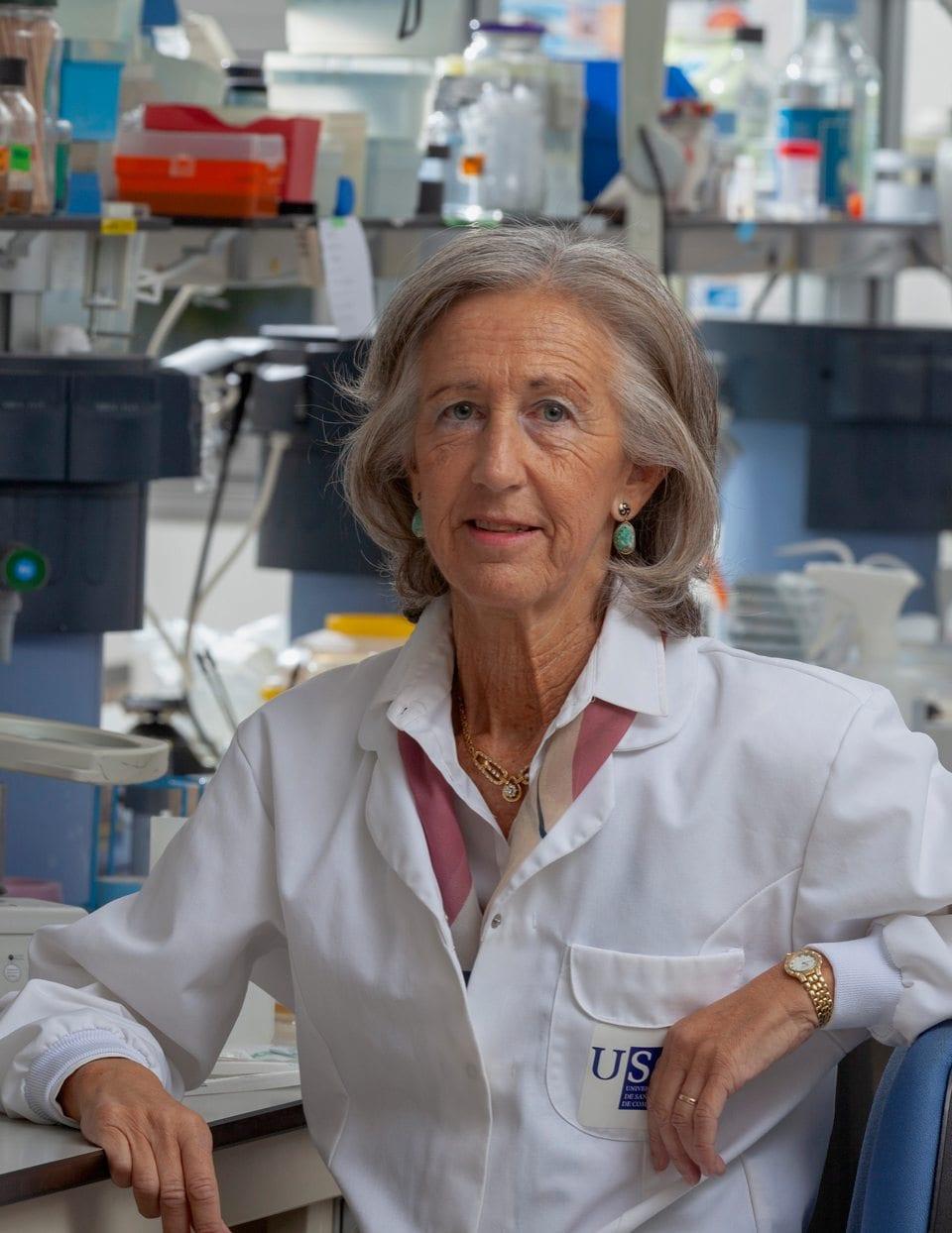 La científica Alicia Estevez