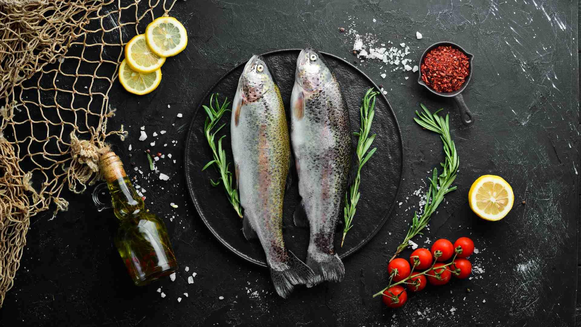 plato trucha arcoiris acuicultura de españa