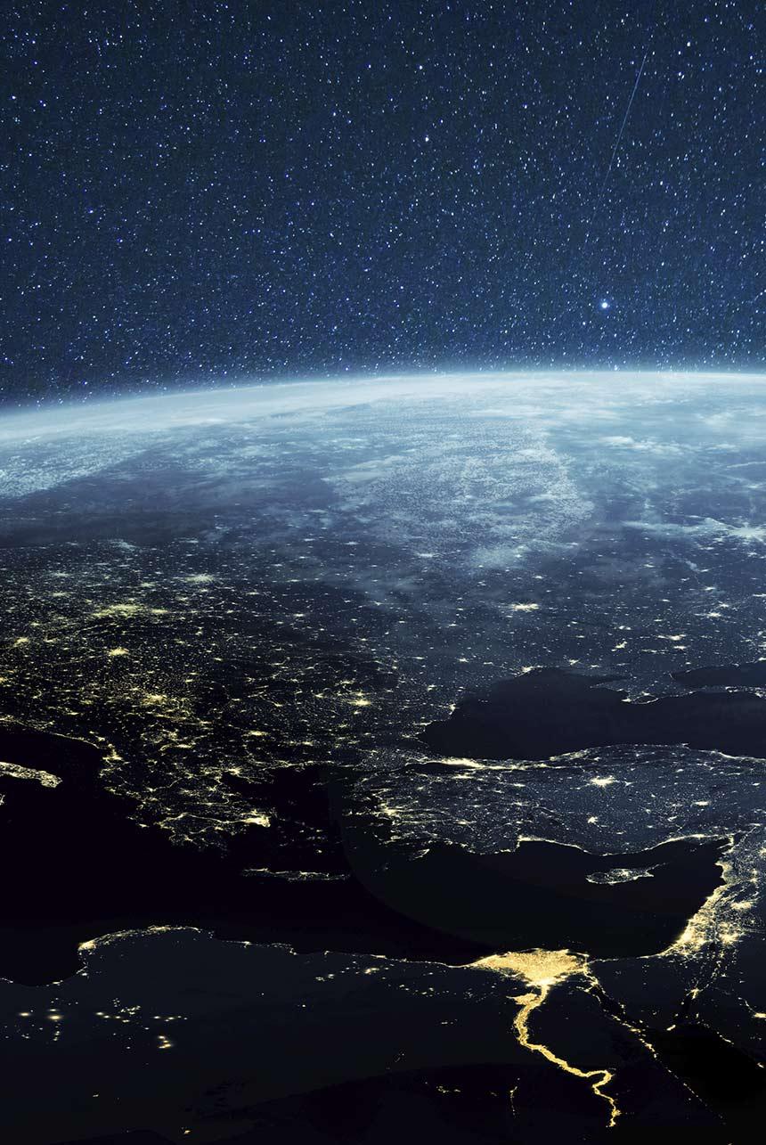 planeta tierra desde el aire acuicultura de españa