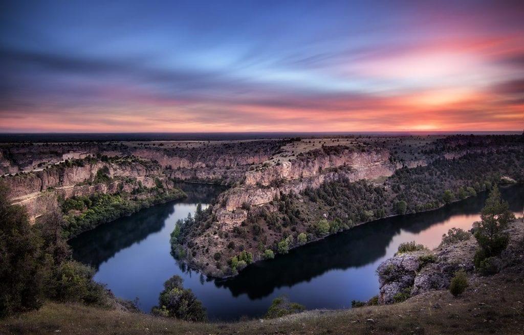 Hoces del río Duraton, acuicultura de España