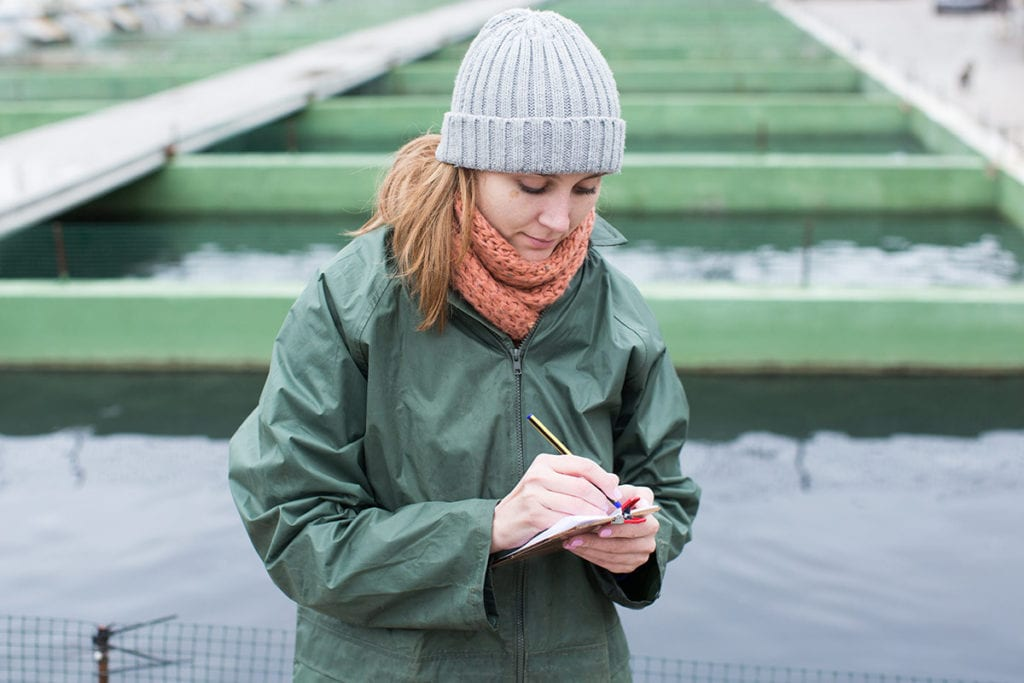 mujeres en acuicultura de España