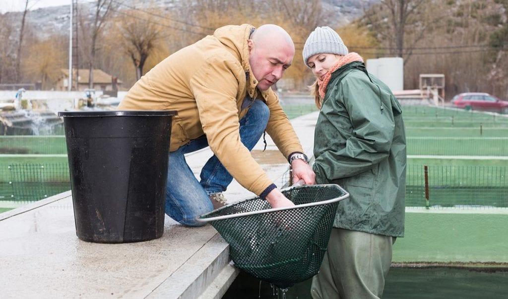 promover la igualdad en el sector acuicola