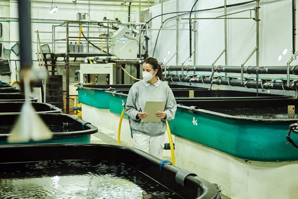 acuicultura de españa con la igualdad